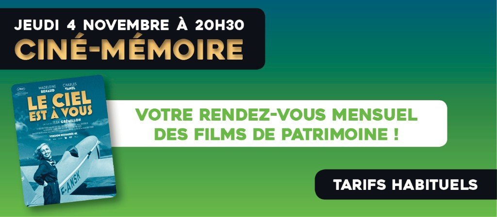 actualité Ciné-Mémoire
