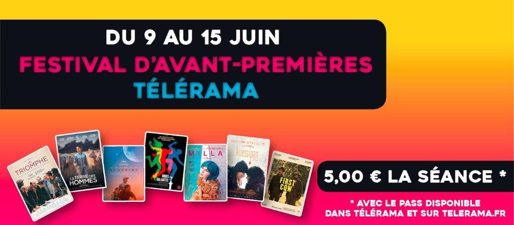 actualité Festival Télérama 2021